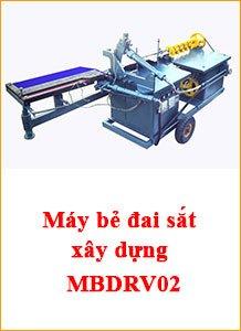 Máy bẻ đai sắt xây dựng tự động MBDRV02